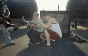 Stone Bros. shooting Brand New Sin My World music video