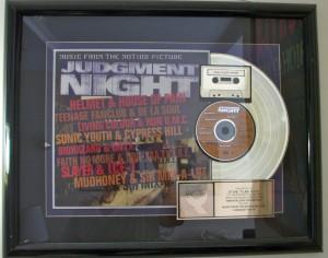 Judgement Night gold record