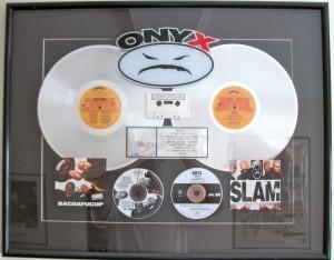 Onyx platinum record