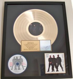 Run DMC gold record